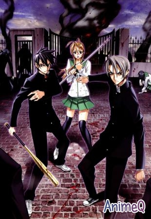 Школа Мертвяков [TV] / High School of the Dead (SUB)